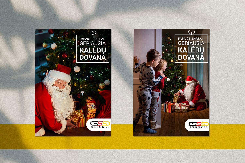 Įvaizdiniai plakatai Kalėdoms