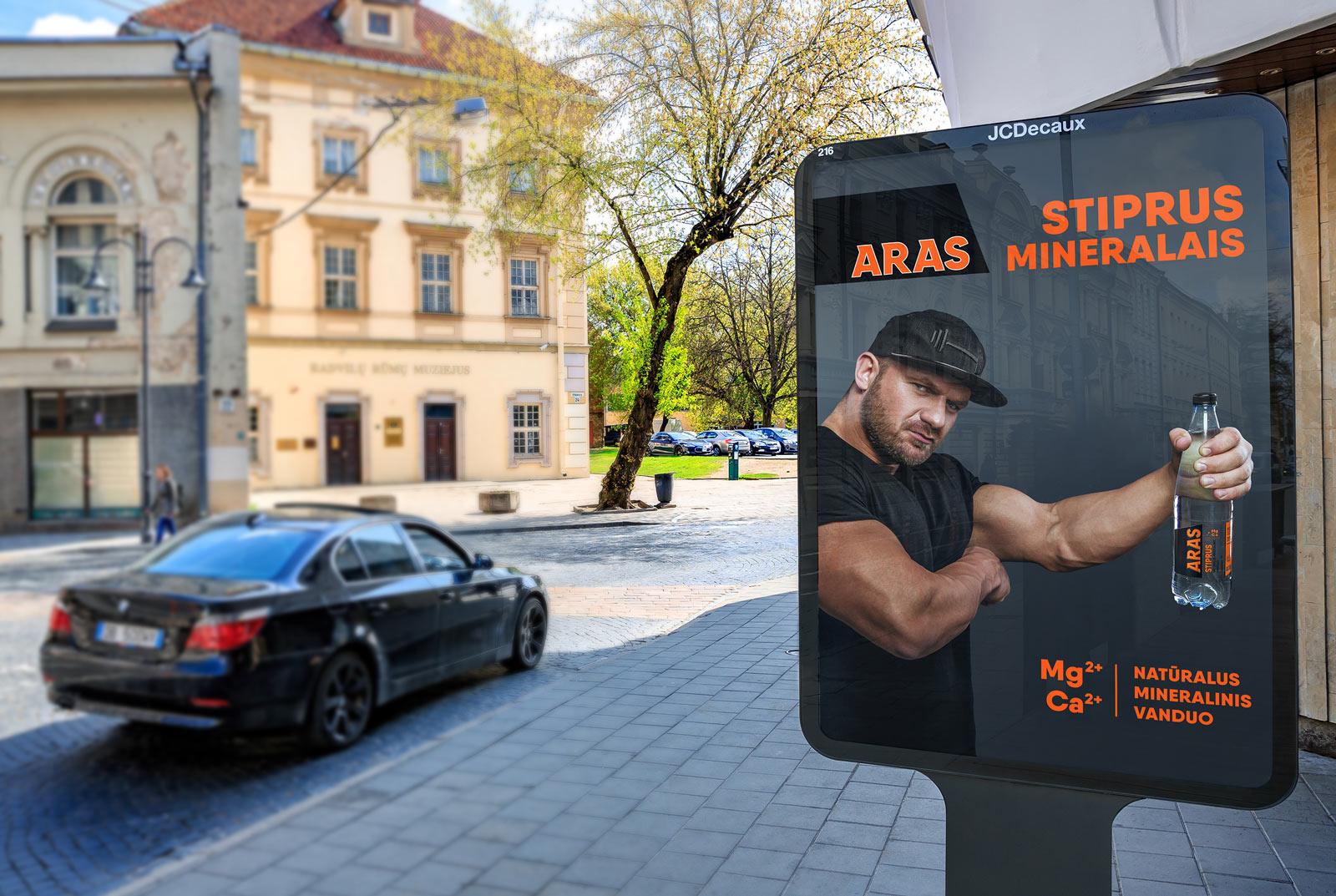 ARAS IronVytas reklamos stendas