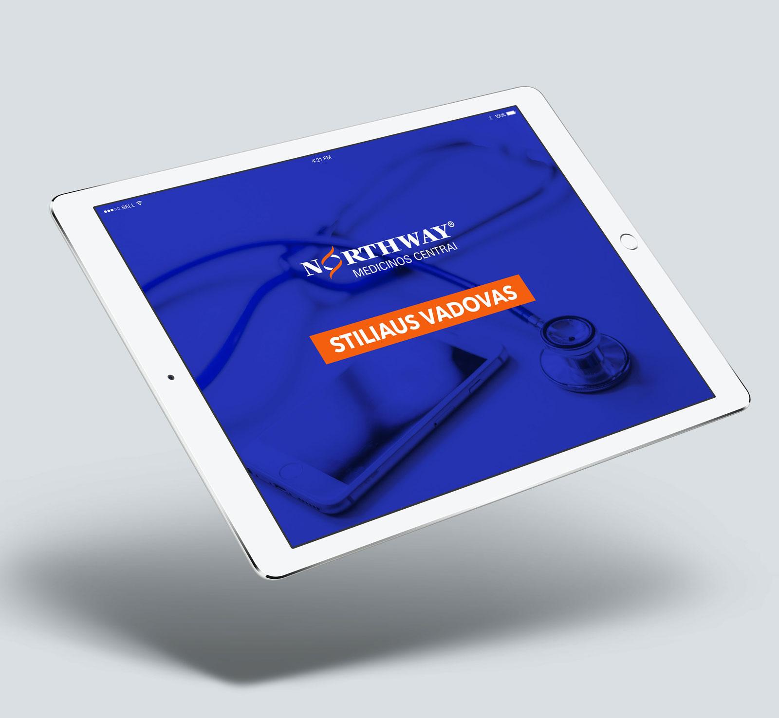 Northway logotipo atnaujinimas